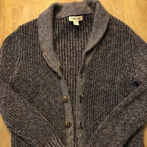 Boys button up cardigan